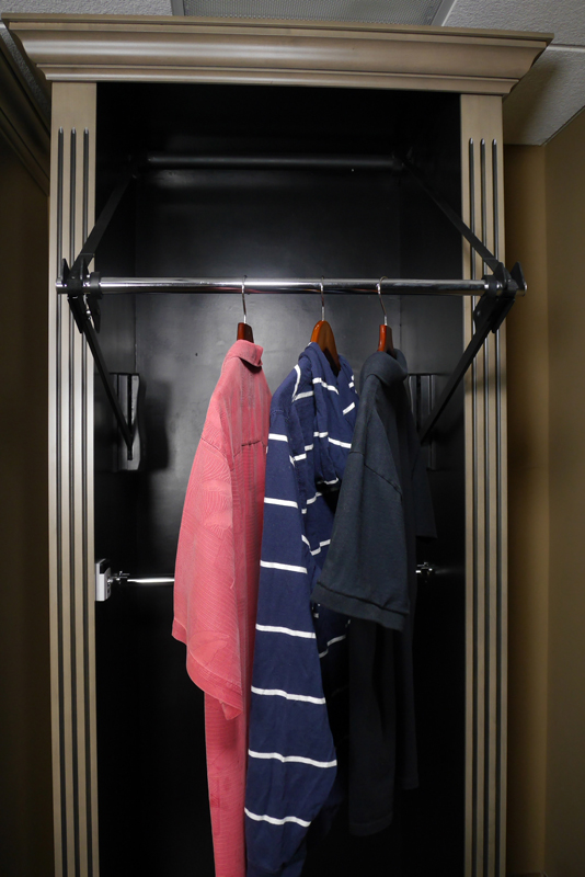 Automated Wardrobe Lift Accessible Home Store