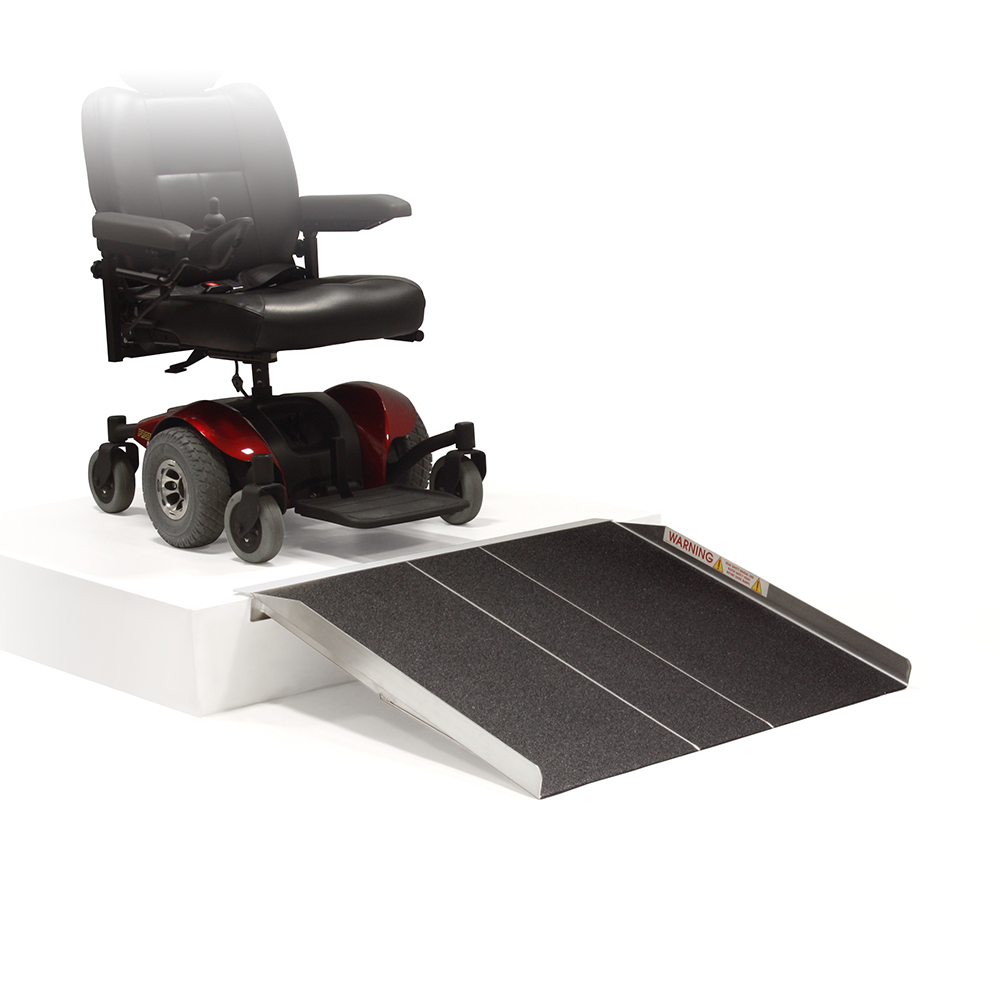 Traction Wheelchair Lift : Non folding ramp traction tape ′ to accessible