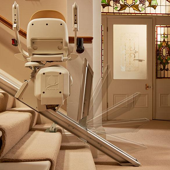 Indoor Hinged-Rail Stair Lift